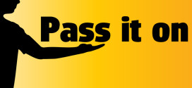 «Pass it on»! Просто – «передайте дальше»