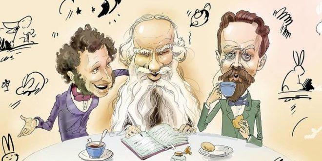 Как бы себя вели в соцсетях Великие писатели и поэты